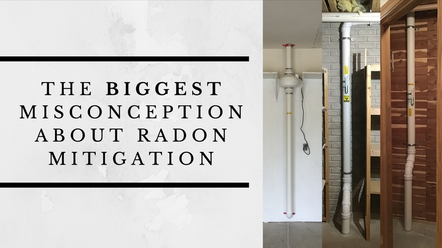 radon mitigation misconceptions